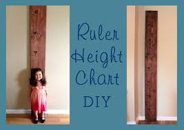Diy Height Chart Easy Diy Pottery Barn Style Height Chart Trading Phrases