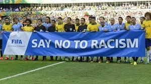 Resultado de imagen de lucha contra el racismo en el deporte