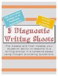 writing diagnostic essay prompts with famous quotes diagnostic essay format