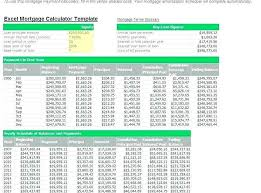 home loan interest calculator excel home loan excel template
