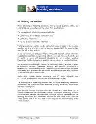 Preschool Teacher Job Description Template Brilliant Ideas Of