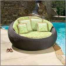 round double lounge chair outdoor  chairs  home decorating ideas