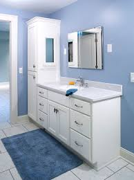 bathroom vanity and linen cabinet. Top Double Bathroom Vanity With Attached Tall Cabinet Amp Regarding Cabinets And Linen N