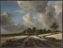 Jacob van Ruisdael   <b>Wheat Fields</b>   The Met