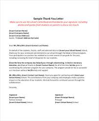 Thank You Note To Employee Stunning 44 Thank You Letter Example Templates Free Premium Templates