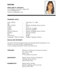 Resume Samples Doc Download Free Templates Format For It ...