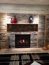 decorations beautiful rock stone fireplace with wall panels idea cool rock fireplace mantel decorating ideas