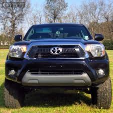 Wheel Offset 2013 Toyota Tacoma Flush Leveling Kit Custom Rims