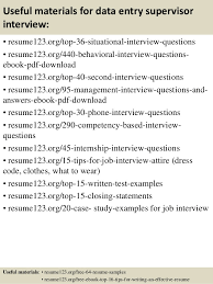 12 useful materials for data entry resume for data entry