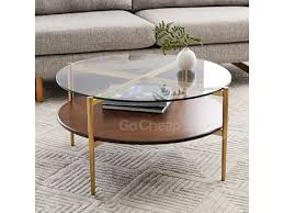 imported glass coffee center table 1 1