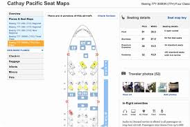 cathay pacific aircraft 77w seating lovely cathay pacific seating chart