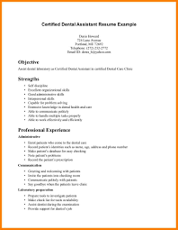 Orthodontic Assistant Resume Sample Entry Level Dental Assistant Resumes Magdalene Project Org