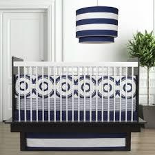 modern crib bedding sets blue