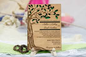 personalized tree wedding invitation 10 real wood wedding Real Wood Wedding Invitations like this item? real wood wedding invitations custom