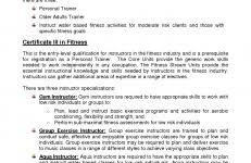 Personal Trainer Resume Example No Experience - Dogging #2A3Aa3E90Ab2
