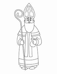 Small Picture Coloring page St Nicholas img 16163 PREP Pinterest Craft