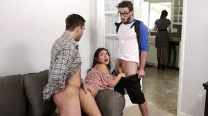 Family threesome lust secret