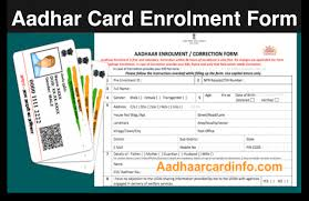 Card Form Free Cost Of Download Aadhar Enrollment