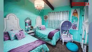 soft teal bedroom paint. Bedroom Paint Ideas Silky Black Bedsheet Blue Striped Blanket Armchair Soft Purple Patterned Wall Teal L