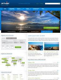 Travel Templates Ja Travel Best Joomla Travel Template Joomla Templates And