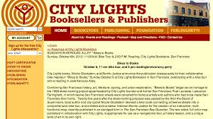 City Lights Bookstore Map Bikes To Books Map Party Burrito Justice
