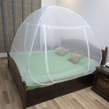 Healthgenie Foldable Mosquito Net Double Bed With Repair Kit of 7  Patches,White: Amazon.in: Garden & Outdoors