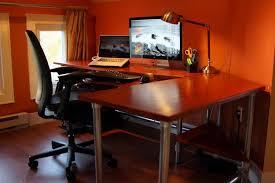 ergonomic computer desk design attractive custom