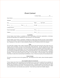 event agreement contract event contract sample templates instathreds co