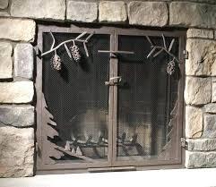 fireplace mesh fireplace screen curtain mesh door fireplace screens fireplace mesh curtain rod fireplace mesh screen