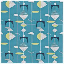 A mobile wallpaper is a computer wallpaper sized to fit a mobile device such as a mobile phone, personal digital assistant or digital. Sanderson Mobiles Slate Blue Lime Wallpaper From The 50s Collection 1950s Wallpaper Retro Wallpaper Pattern Wallpaper