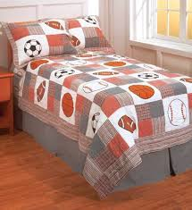 160 best Sports Quilts ⚾⚽ images on Pinterest | Art crafts, Baby ... & Football Soccer Basketball Baseball Playtime Sports Bedding Quilt Set  $89.99 #kidsroomstore Adamdwight.com