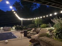Overhead Patio Lights Landscape Illumination New Trends In Outdoor Lighting