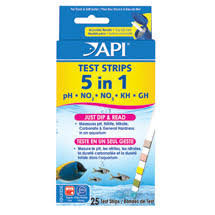 Welcome To Api Fishcare 5 In 1 Aquarium Test Strips