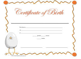 Sample Certificates Templates 15 Birth Certificate Templates Word Pdf Template Lab