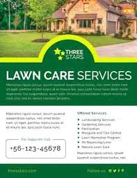 landscaping templates free lawn care flyers template allthingsproperty info