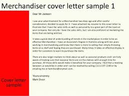 Associate Merchandiser Cover Letter Resume For Visual This File