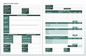 Construction Change Order Form Amazing Complete Collection Of Free Change Order Forms Indot Request Form