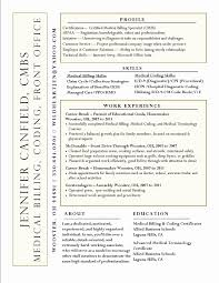 Medical Billing Resume Samples Resume format for Medical Billing Elegant Medical Biller Resume 47