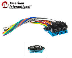 plugs into factory radio car stereo wiring harness wire reverse american international gwh343 reverse wiring harness