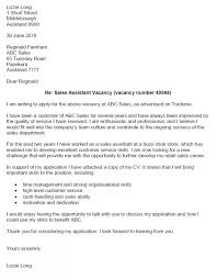 How To Write A Cover Letter With Sample Application Letter For On