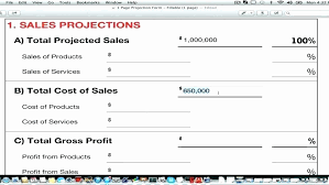 Sales Forecast Template Excel Elegant 39 Best Business Plan