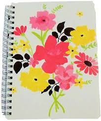 Carolina Pad Studio C College Ruled Poly Cover Spiral Notebook