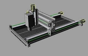 picture of 3 axis cnc milling machine