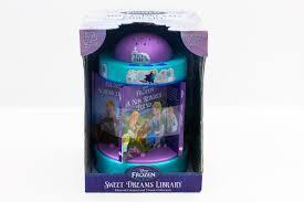 Frozen Night Light Projector Disney Frozen Sweet Dream Library Carousel Disney Carousel
