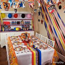 Best Party Rooms For Kids New Power Rangers Party Ideas Decorating To View  R And Luxury ...