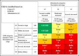 Ckd Classification Chart Practical Approach To Detection And Management Of Chronic