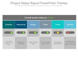 Project Powerpoint Project Status Report Powerpoint Themes Powerpoint Templates