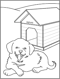 Small Picture Printable Dog Coloring Pages A Rabbit And A Dog Are Under The