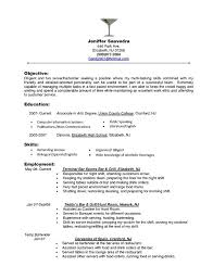 Bar Resume Examples | Resume Examples And Free Resume Builder