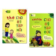 Combo2 quyển Truyện cho bé tập đọc + Thơ cho bé tập nói – THANH HÀ BOOKS